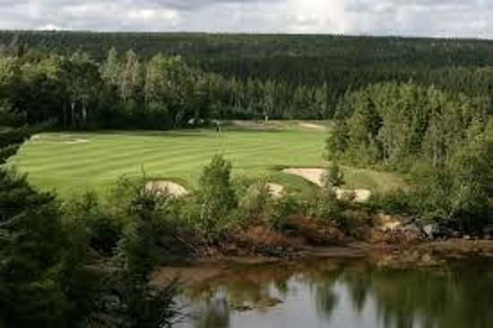 Port Blandford, Kanada: not a golfer but great!