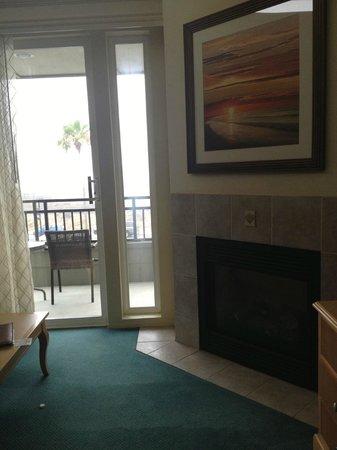 Carlsbad Seapointe Resort: Outside Patio overlooking the ocean