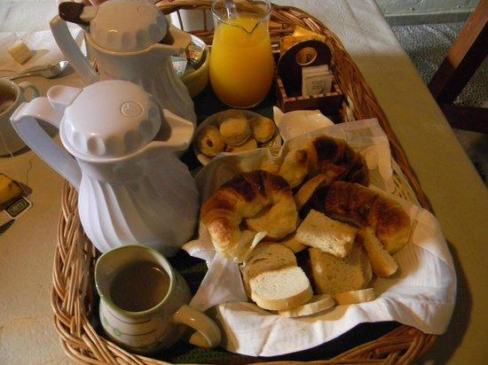 Solar Pampa : desayuno