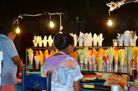 Quinta Avenida : street vendors