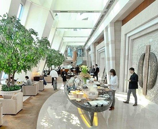 Le Royal Meridien Shanghai: Exec lounge 44 floor
