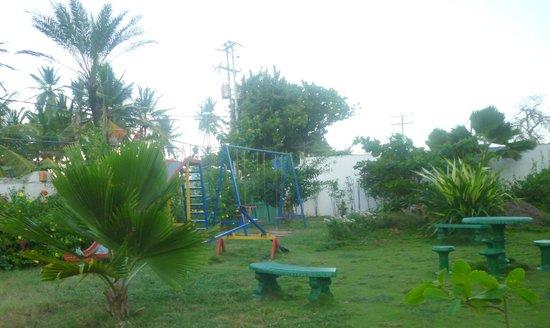 LD Le Flamboyant: Área de juegos infantiles