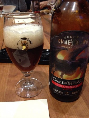 Brewery Ommegang : Fire and Blood Red Ale!