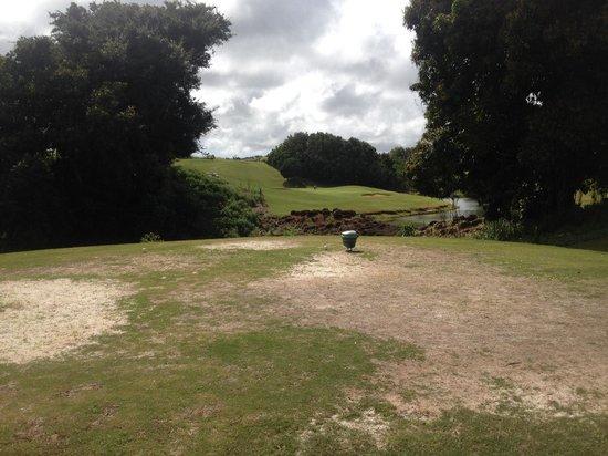 Puakea Golf Course: Tough shape