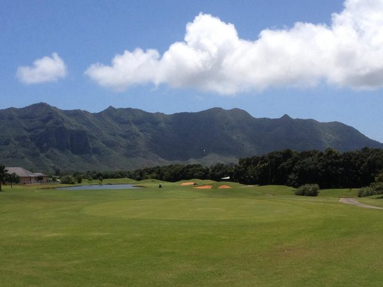 Puakea Golf Course: Beautiful views