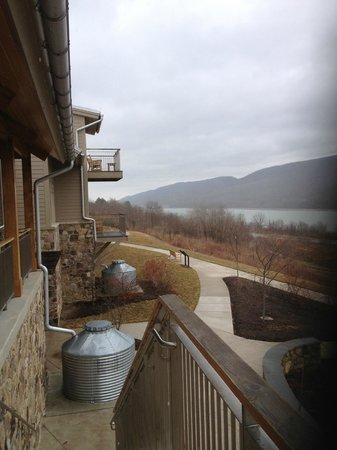 Nature Inn at Bald Eagle: Balconys