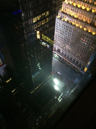 Millennium Broadway New York Times Square : View from Hotel room 50th floor