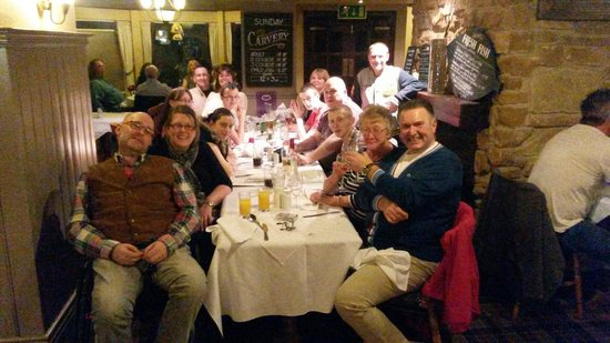 The Elwes Arms: My family at my 40th birthday