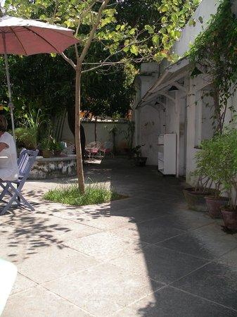 La Maison Rose : la terrasse
