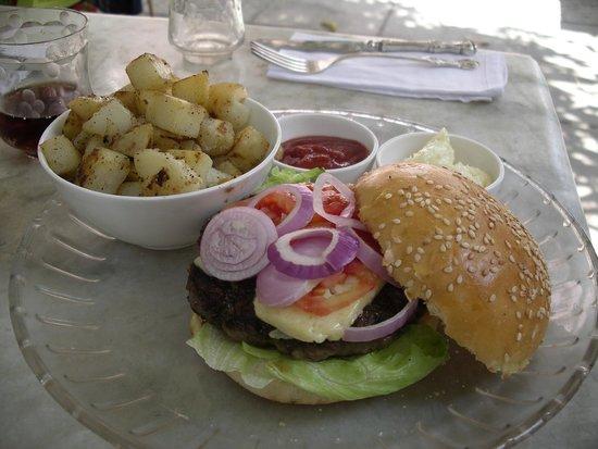 La Maison Rose : burger