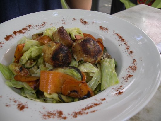 La Maison Rose : salade vegetarienne