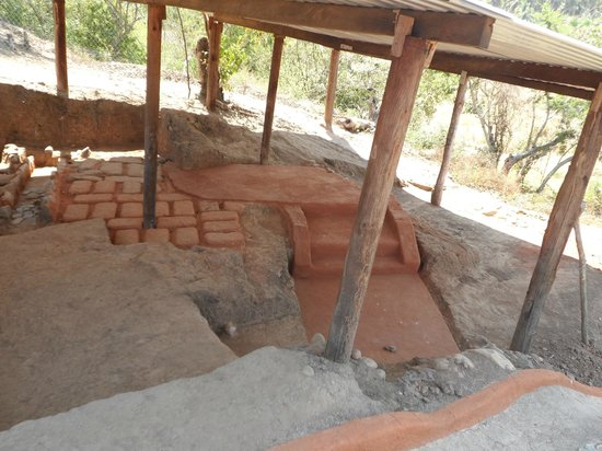 Xihuacan Museum and Archeological Site: Cooking Area