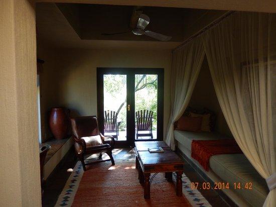 Sabi Sabi Bush Lodge : Sleeping quarter