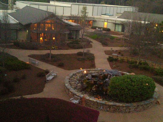 The Lodge and Spa at Callaway Gardens: view from balcony.