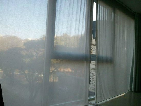cE Hotel de Diseño: Vista do apartamento