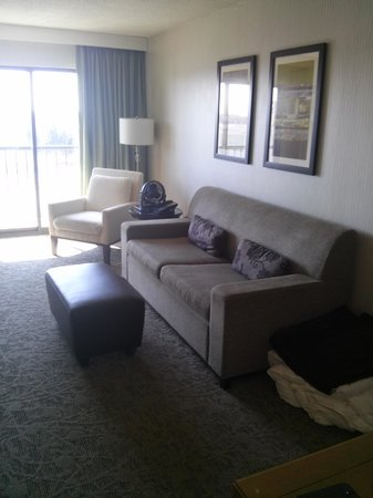 Hilton Auburn Hills Suites: Living Room