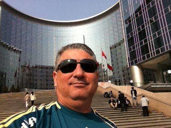 Grand Hyatt Beijing: Entrada do Hotel