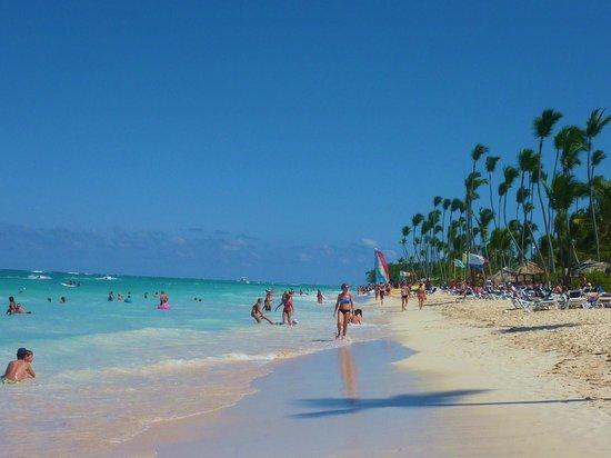 Grand Palladium Punta Cana Resort & Spa: playa del hotel