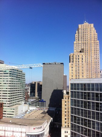 Hyatt Regency Cincinnati: View from 2201