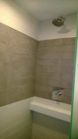 Palms Casino Resort: bathroom shower
