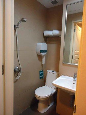 Hotel 81-Bugis: toilet