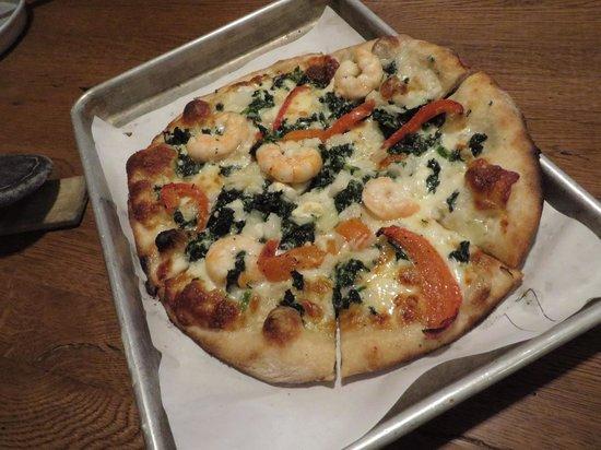 Haven Pizzeria: White pizza - no tomato sauce
