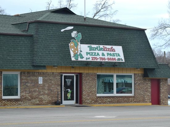 Turtlelini's Pizza and Pasta: When you see this, stop and eat.