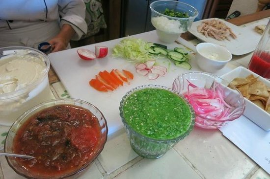 Arte Culinario by Mavi Graf : Toppings for the Sopes and Panuchos