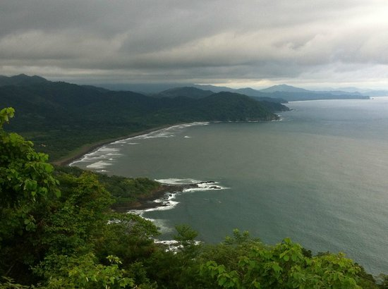 Hotel Guanamar : View from highest point of horseback riding