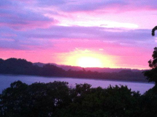 Hotel Guanamar : Beginning of Sunset (not altered)!