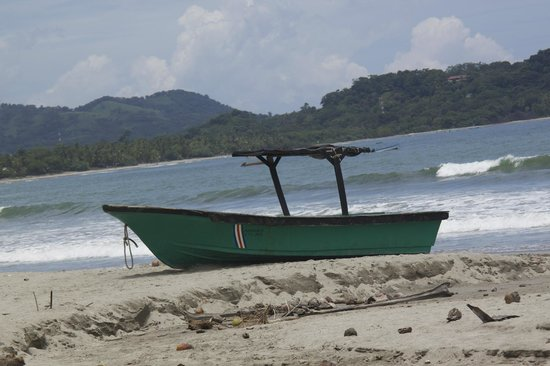 Hotel Guanamar: Beach - kayaked to island