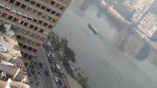 Conrad Cairo : View Of River Nile From The room
