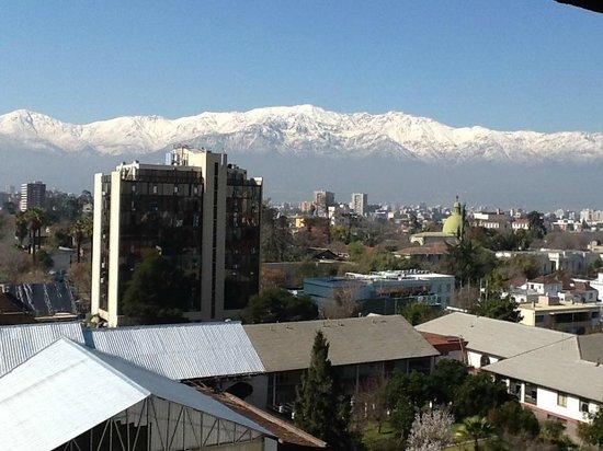 NH Ciudad de Santiago : Vista do quarto - agosto 2013