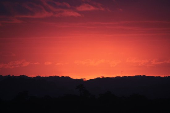 Hotel Guanamar : Sun has set! Magnificent view!!