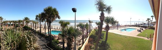 Beach House Inn: Aussicht Zimmer 217