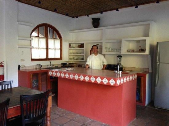 Casa Lucia Boutique Suites & Apartments: The Chef!