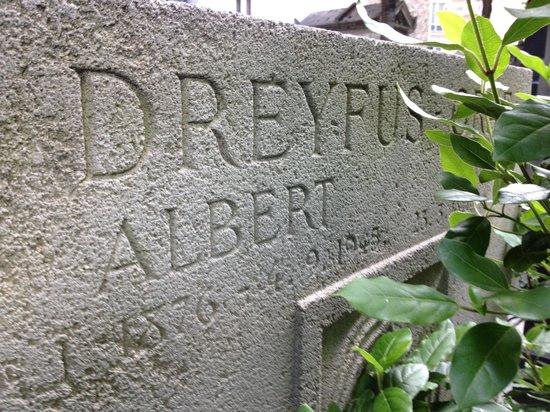 Cimetière du Montparnasse : Albert Dreyfus