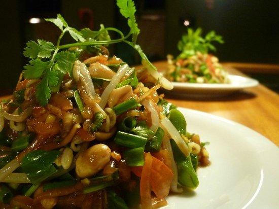 Thaicoso : Green papaya salad