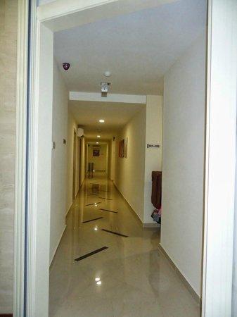 D'or Hotel: hallway