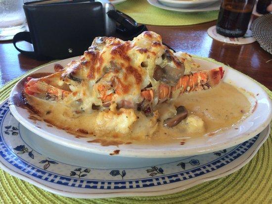 Cafe Desideri: Lobster a la thermidor