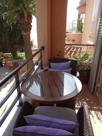 Hotel Tiara Yaktsa Côte d'Azur. : Varanda