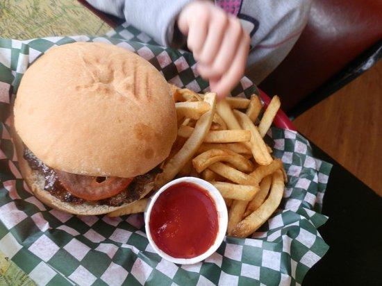 The Nomad: Kids meal burger