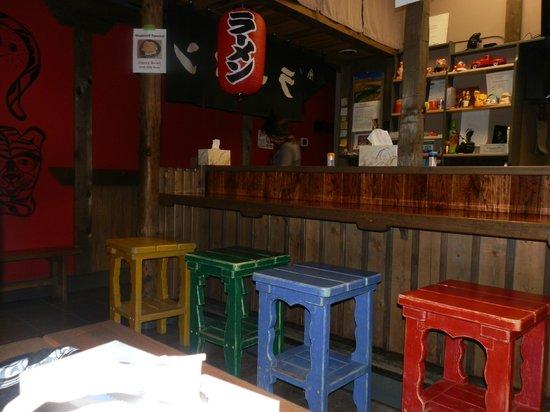Tiger Ramen: Bar