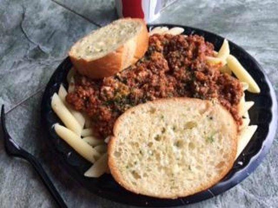 Spaghettini: ショートパスタも美味しい