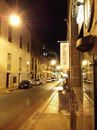 Moreno Hotel Buenos Aires : Restaurante Aldos ao lado do hotel Moreno