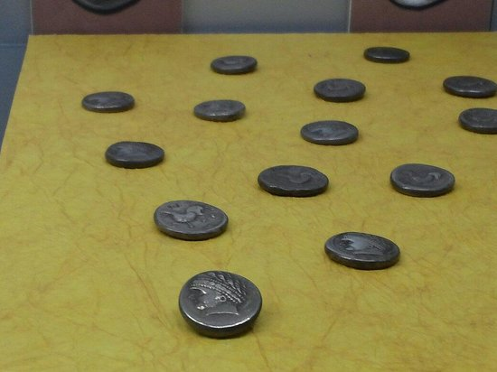 Archaeological Museum and Andautonia Archaeological Park: Ancient money