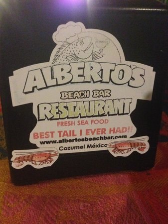 "Alberto's Beach Bar & Restaurant: ""Best tail you'll ever have"""