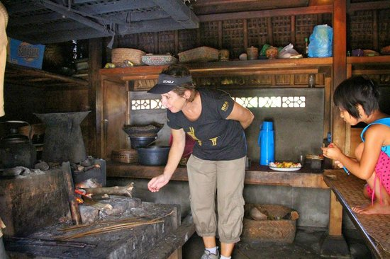 Bali Hai Bike Tours: Stoking the fire in Balinese Kitchen
