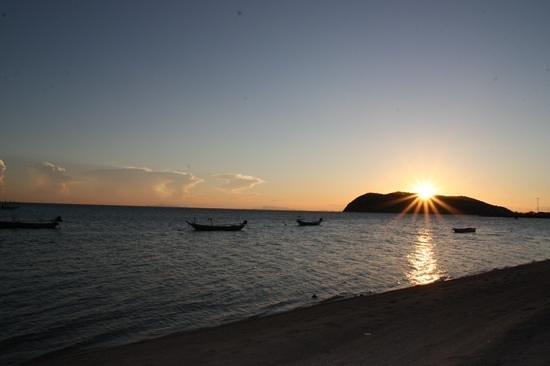 Beachlounge - Thong Sala: Sunset