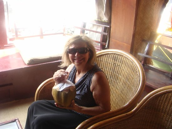 Sreekrishna Ayurveda Centre: on the houseboat - great seats to enjoy the view